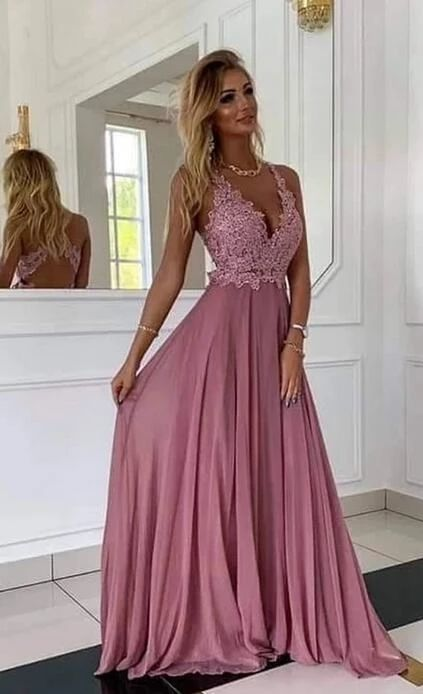 Deep Vneck Sexy Long Prom Dress with Applique, CR 2905 - V neck prom dresses, Dance dresses, Long prom dress, Sexy prom dresses long, School dance dresses, Evening dresses - rushorderyoucangetitwithin15days Here is our email address cherrycherry0088@outlook com, you can send email to me at any time  The sizes for it   You can make the dress in standard size or custom size  If you choose the custom size, we need the following size  1  Bust              inches  2 Waist                  inches  3 Hips (Your Butt)                    inches  4  Your height without shoes              inches   ( It is from your top head to the floor without shoes ) Important ! 5,Your height with shoes              inches   ( It is from your top head to the floor with shoes ) Important ! 6,The height of shoes           inches 7 Occasion Date           8 Dress color          If the dress has sleeves, we also need 9  Arms Eye           inches 10  Shoulder Width ( shoulder to shoulder)          inches 11  Sleeve Length (arms length)         inches The Fast & Safe Delivery  Fast international Shipping is a great progress for us in nowadays! We work with the world famous like DHL, UPS, FEDEX, TNT etc  HOW TO ORDER IT Step 1 Click on  Add to cart  Step 2 Choose check out Step 3 Select payment method and add notes of your size and color choice  Step 4 Fill out your personal information, like shipping address and contact details