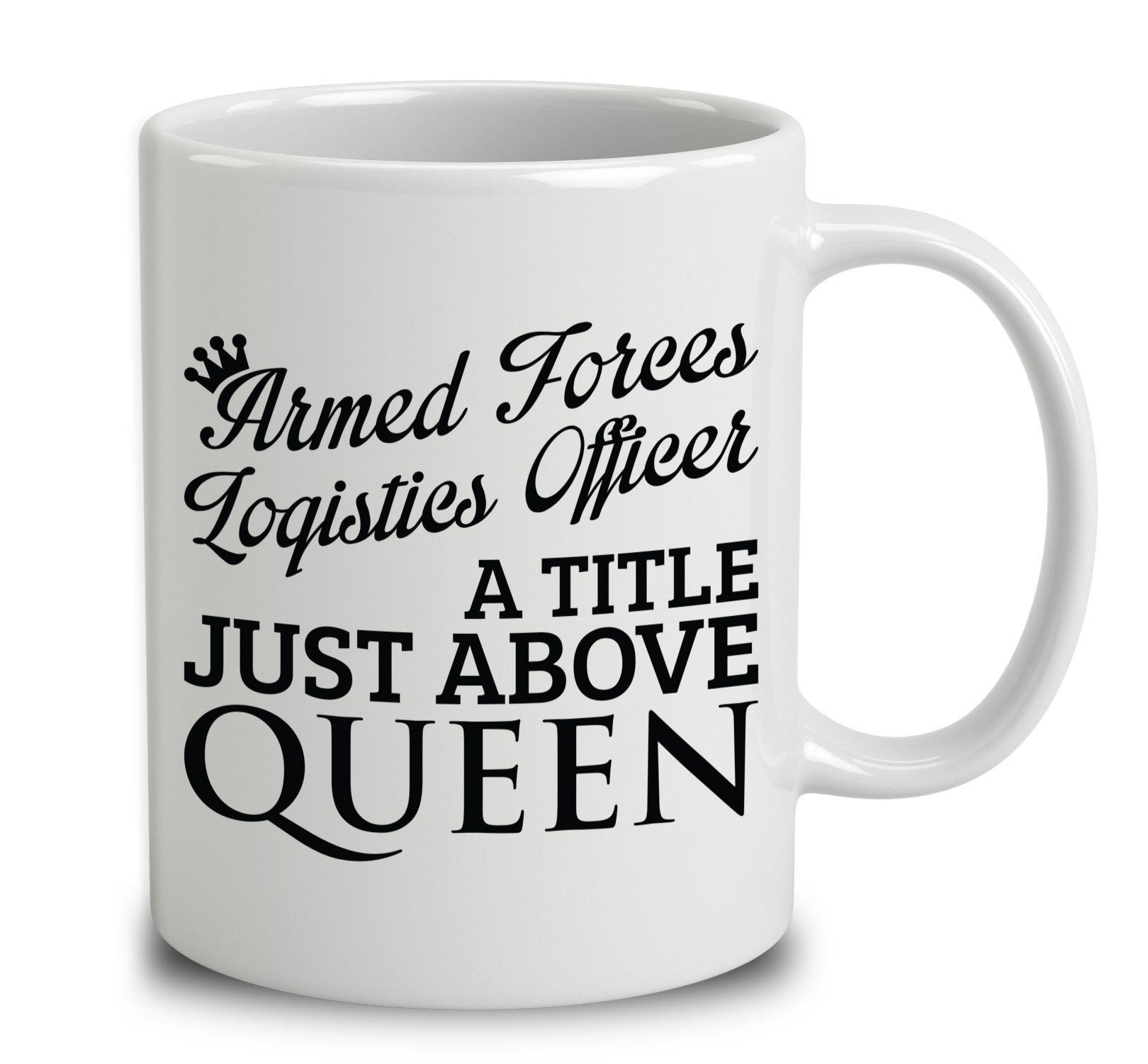 Armed Forces Logistics Officer A Title Just Above Queen  Products