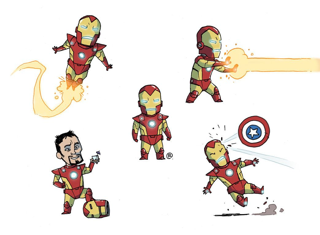 Little Ironman by darrenrawlings on DeviantArt