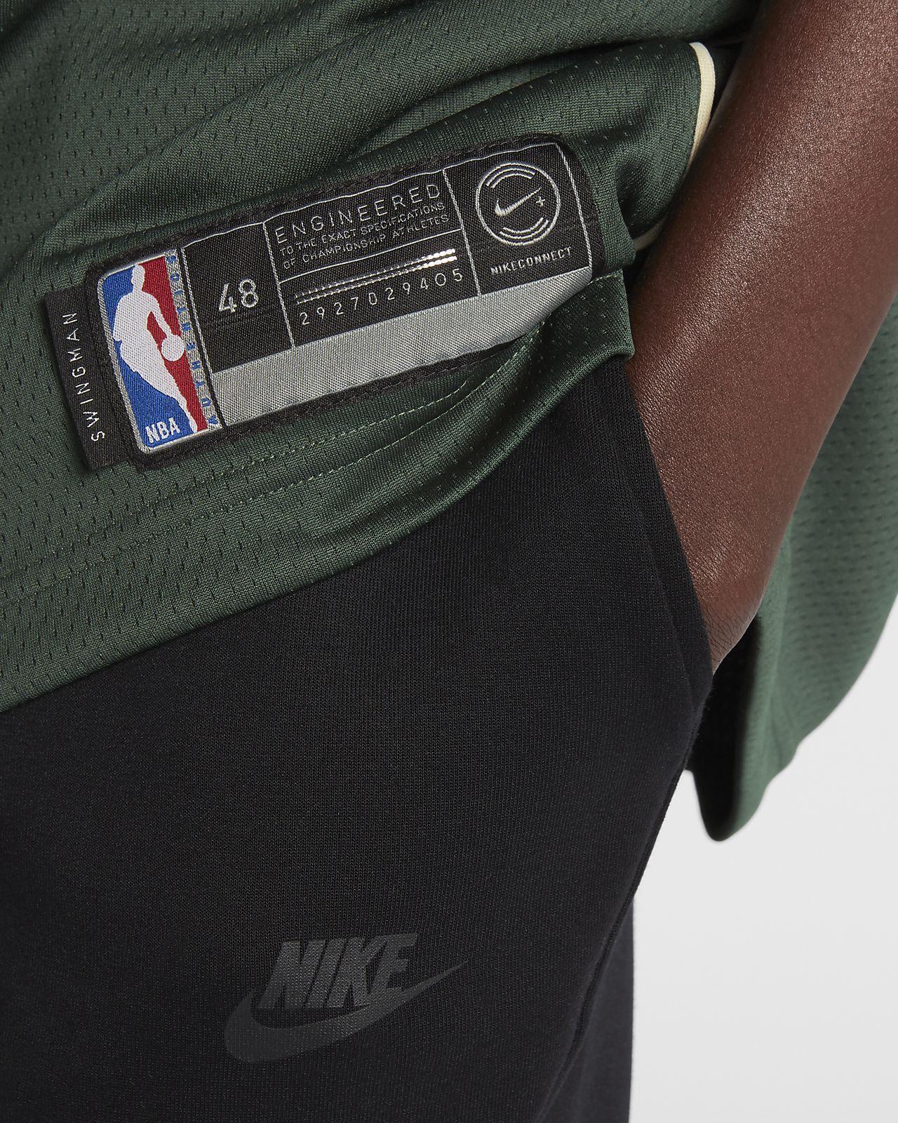 eebbcbea693 Nike Giannis Antetokounmpo Icon Edition Swingman Jersey (Milwaukee Bucks) Men s  Nba Connected - 2Xl (56)