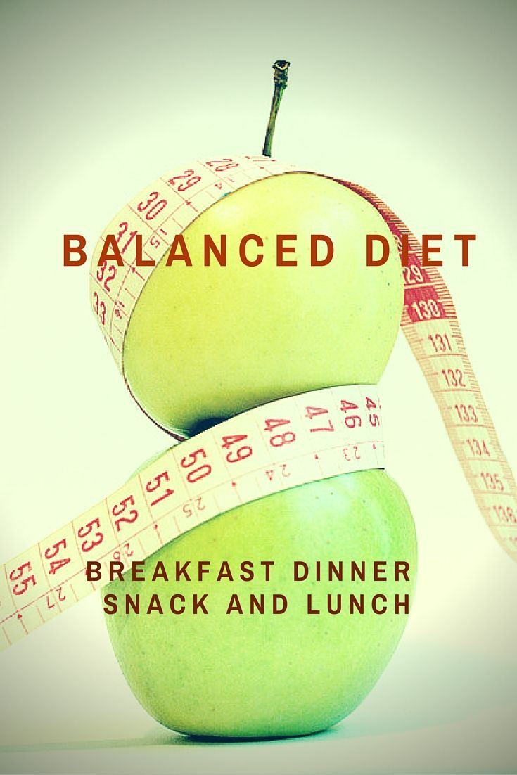 """What actually is a """"Healthy Balanced Diet""""?"""