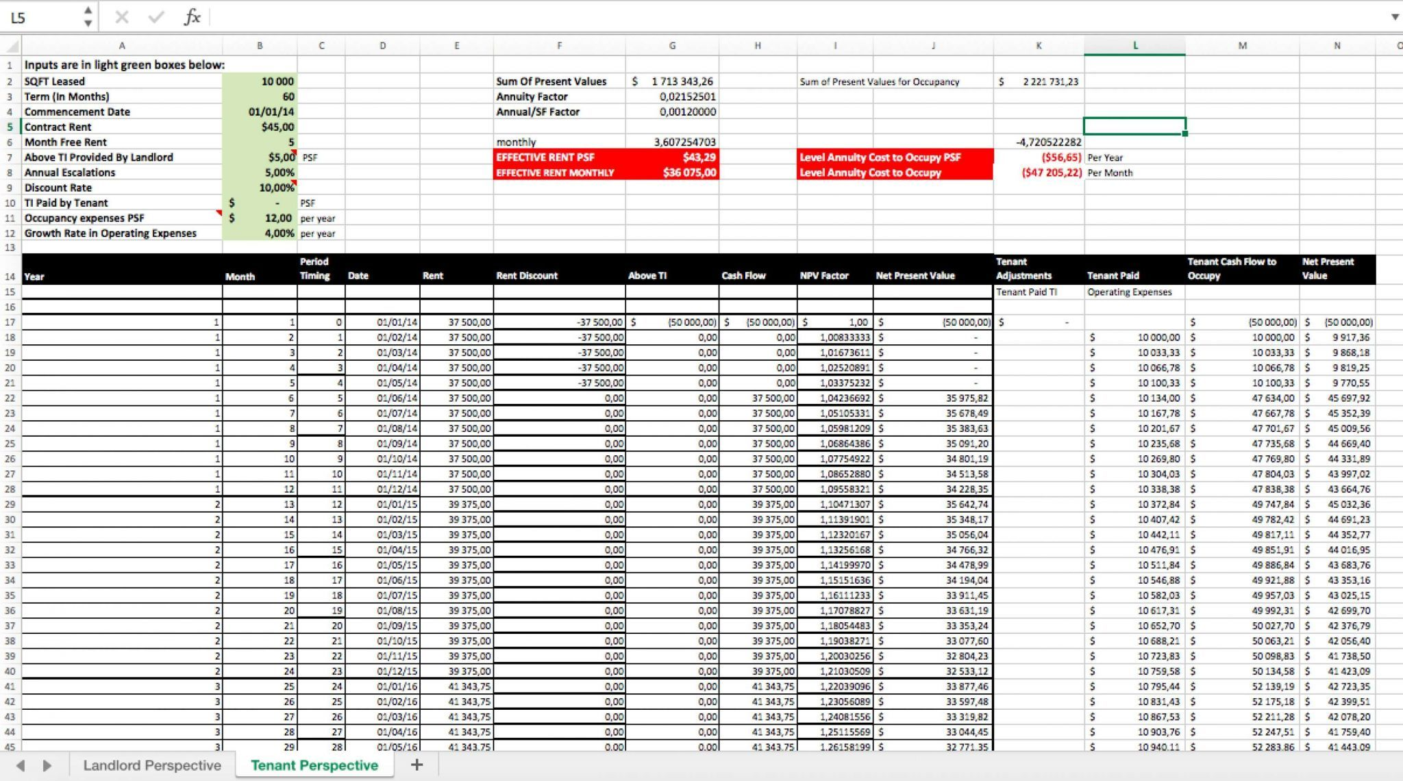 Rental Property Spreadsheet Template Excel In 2020 With Images