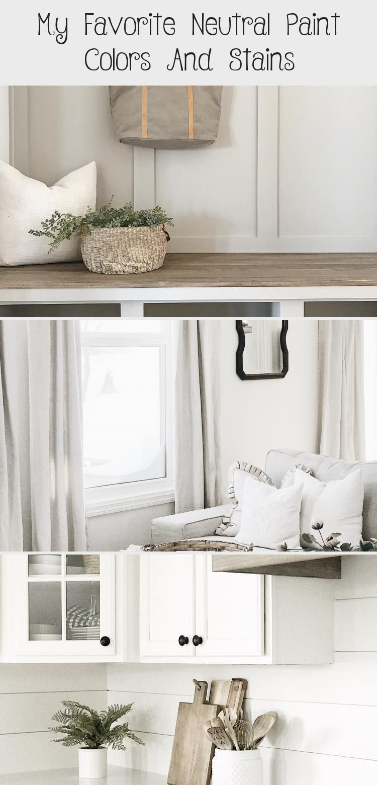 My Favorite Neutral Paint Colors And Stains Décoration