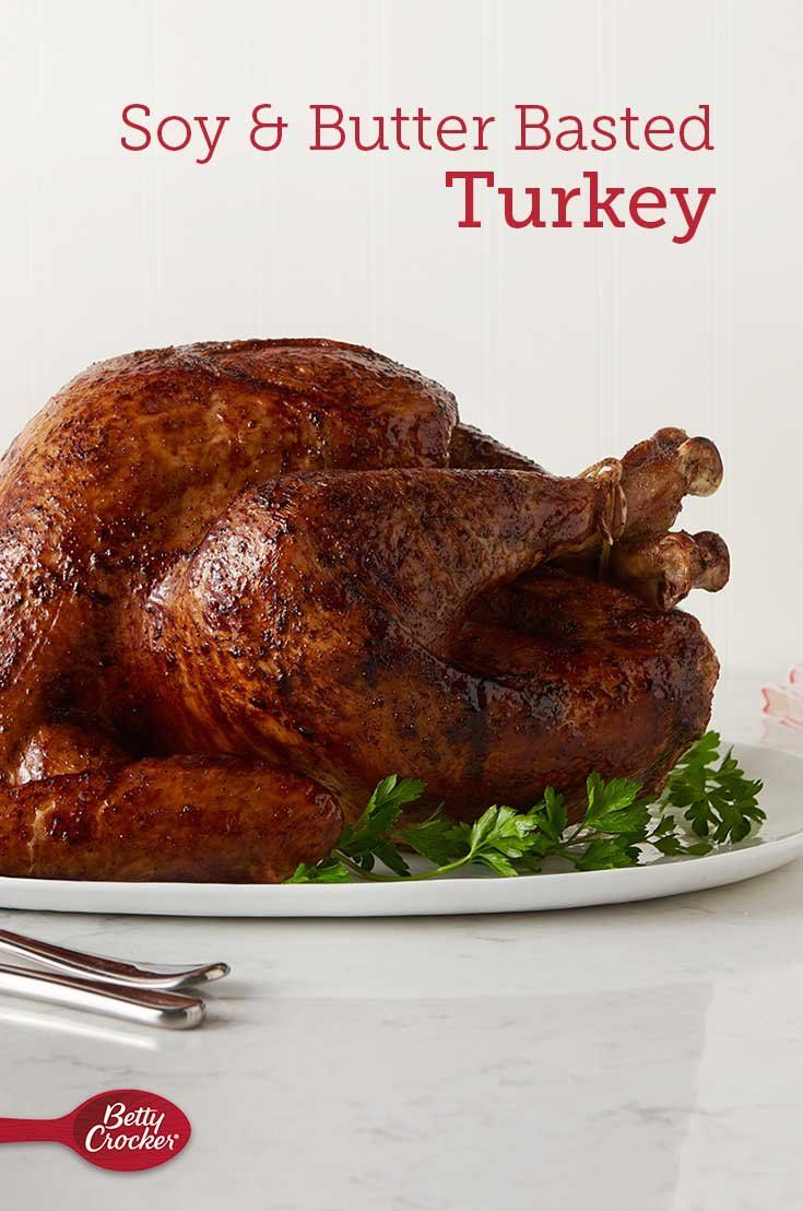 Soy and ButterBasted Turkey Recipe in 2020 Butter