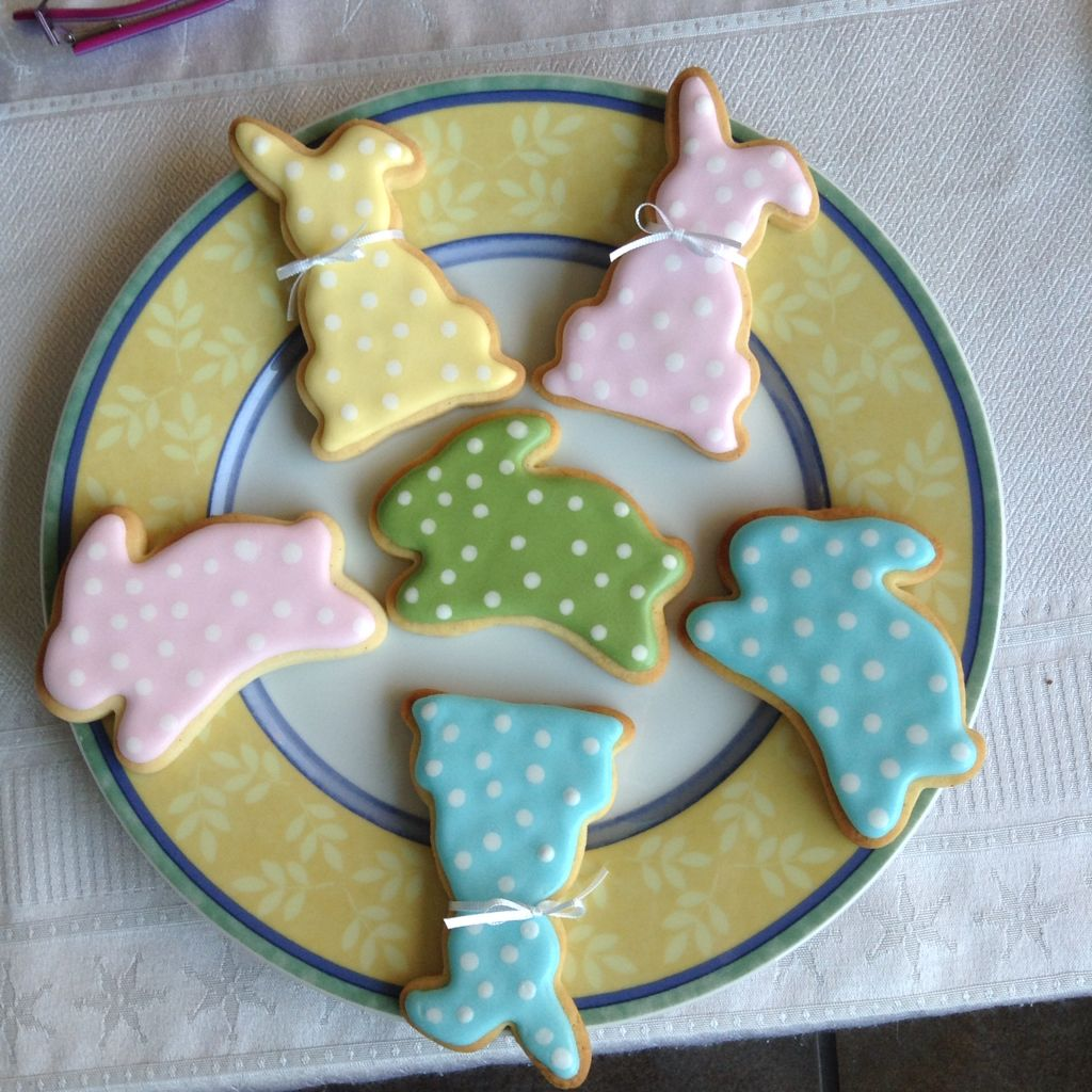 bunnies sugar cookies