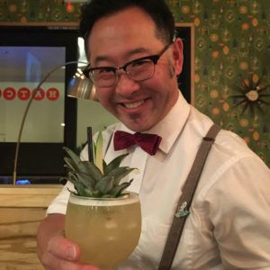 Mixologist Trevor Kawamoto at Hatch. (Facebook photo)