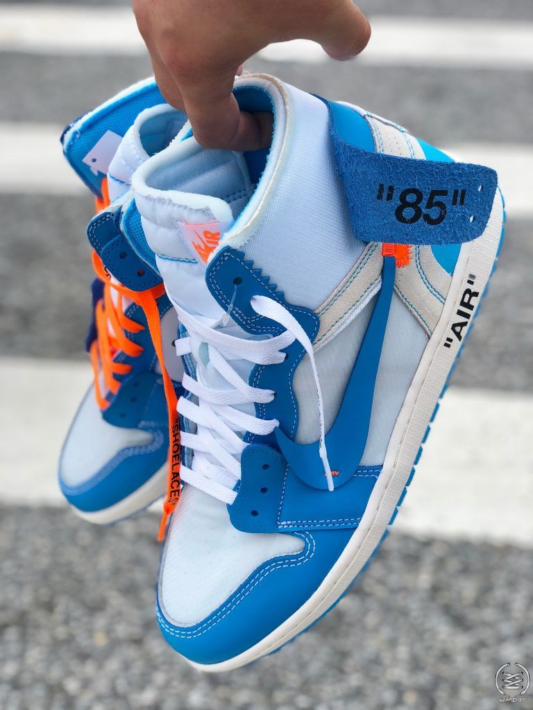 Virgil Abloh Off White Air Jordan 1 Unc 10 Sneakers Fashion Hype Shoes Off White Shoes