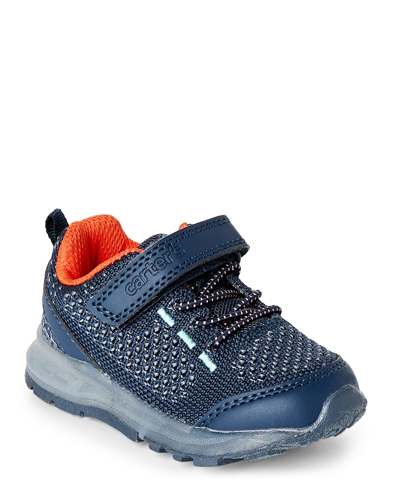 Toddler Boys Navy Record Light Up Sneakers