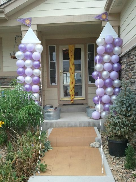 Tangled Birthday Party Ideas | Photo 8 of 20 | Catch My Party