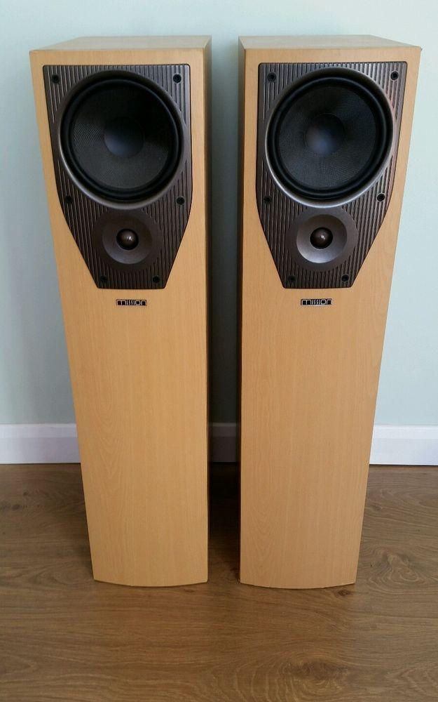 Mission M73 Speakers 163 35 00 Speakers For Sale Speaker Mission