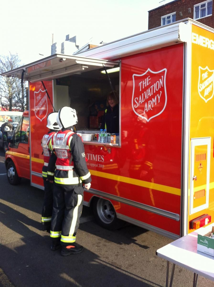 emergency services salvation army