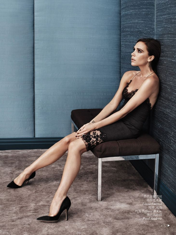 Victoria Beckham for Vogue.