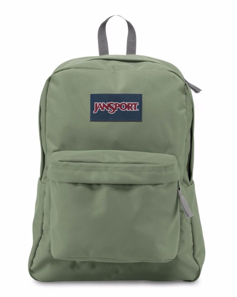 sports shoes 2d8aa 4304c JanSport SuperBreak Backpack (Muted Green)