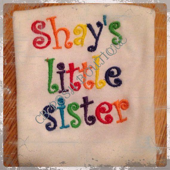https://www.etsy.com/listing/197519615/rainbow-personalized-lil-sister-onesie