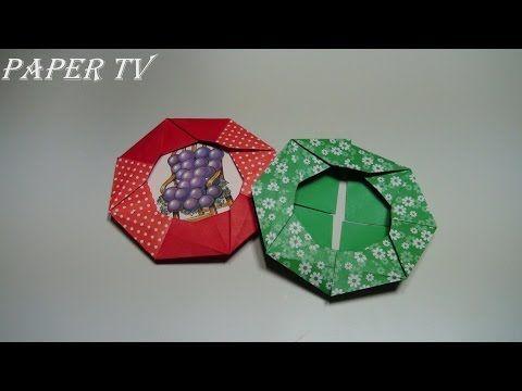 Cómo hacer un marco de fotos de origami: 7 Pasos | 360x480