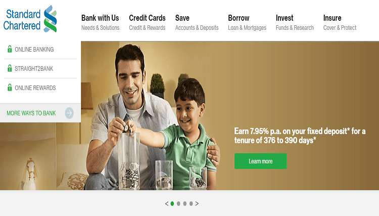 Standard Chartered Bank Personal Loan Interest Rate Eligibility Personal Loans Compare Cards Bank Credit Cards