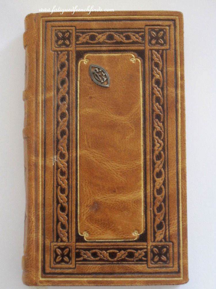 Missel of Joan of Arc 1930 H. Proost & Cie Beautiful Fine Gilt Tooled Leather Binding Mono CE Superb condition www.fatiguedfrenchfinds.com