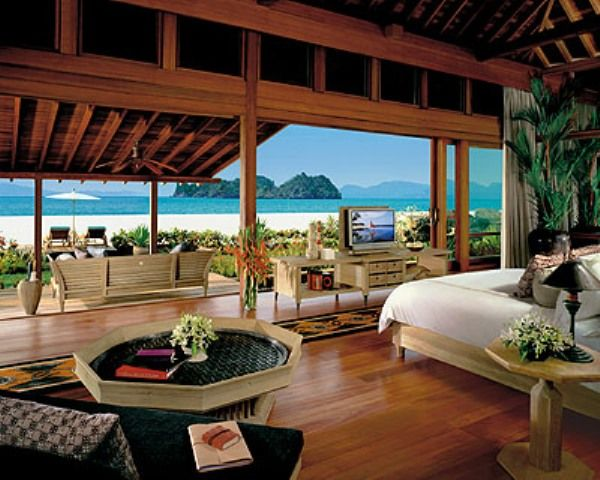 luxury beach home interiors