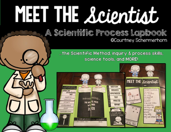 """{NEW PRODUCT - FREE FOR A LIMITED TIME!}  Use this cute lapbook as a supplement to your existing curriculum to review/assess scientific processes.  It is great to use at the beginning of the year to review enduring science concepts like:*The Scientific Method;*Inquiry & Process Skills;*Science Tools.The lapbook also engages students in the scienctific processes by encouraging them to make personal connections like:*Everyday science around you;*""""I am a scientist when I...""""*The category of ..."""