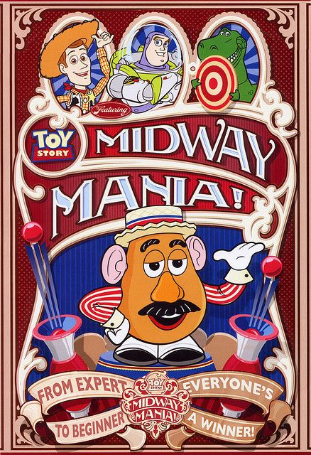 Toy Story Midway Mania Disney Photography Graphics Disney