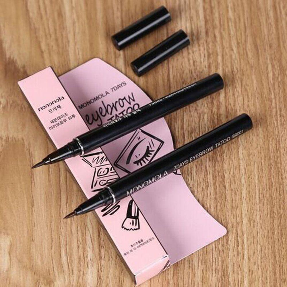 Lasting 7 Days Women Brown Eyebrow Pencil Waterproof