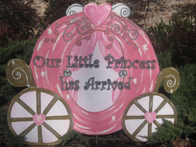 Unique Yard Sign To Announce Baby S Arriaval Baby Things