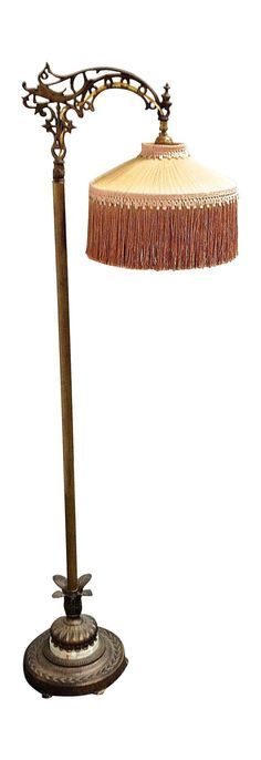 1930s Floor Lamp Antique Floor Lamps Lamp Bronze Floor Lamp
