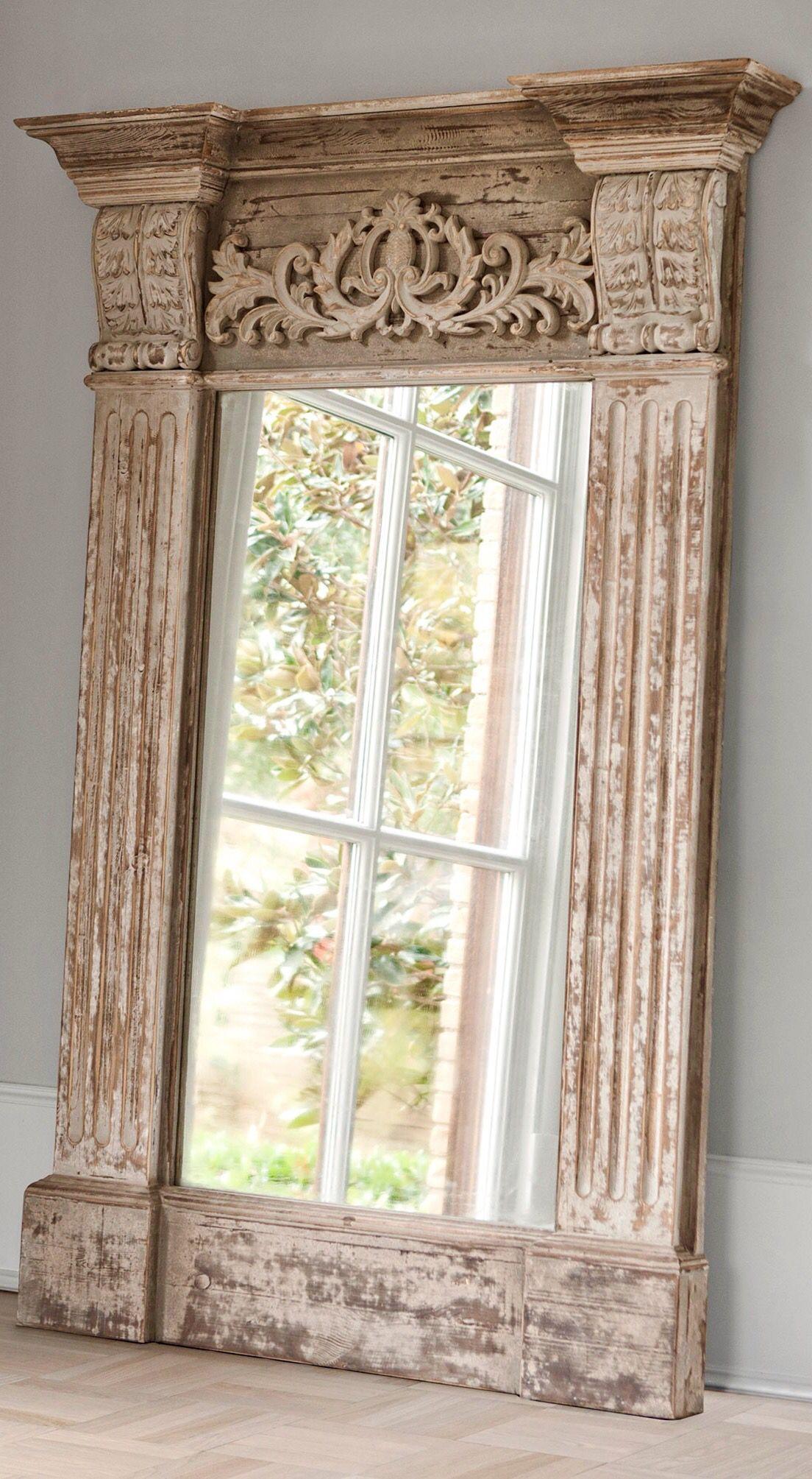 Mirror By Embella Home In 2019 Trumeau Mirror Floor