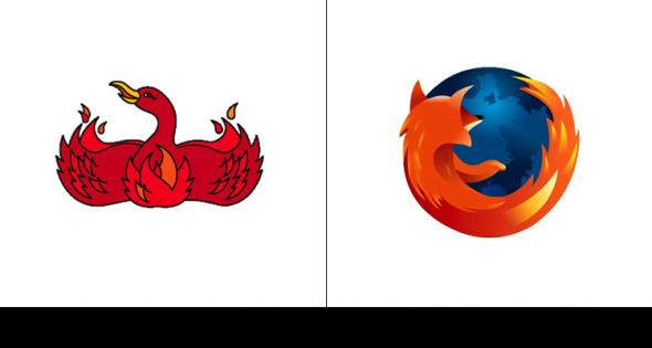Mozilla Firefox 2002 vs. 2009 to today