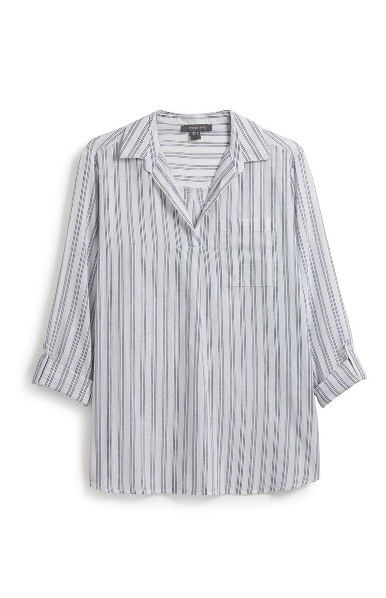d3ae38f99b8 Primark - Striped Tunic Shirt | Capsule Work Outfits in 2019 | Tunic ...