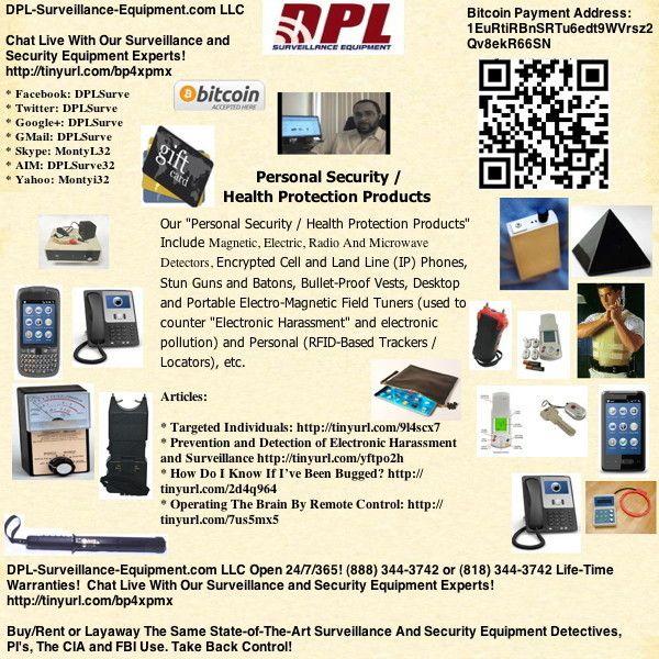 DPL-Surveillance-Equipment com: Spy Video Playlist: PERSONAL