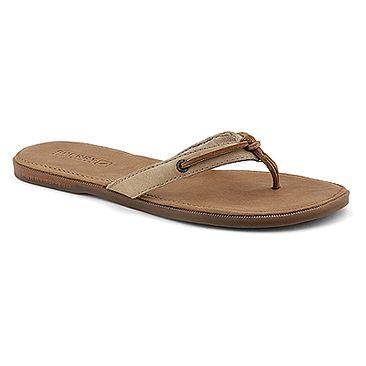 Women's Flip Flops Sandals/Sperry TopSider Calla White Patent