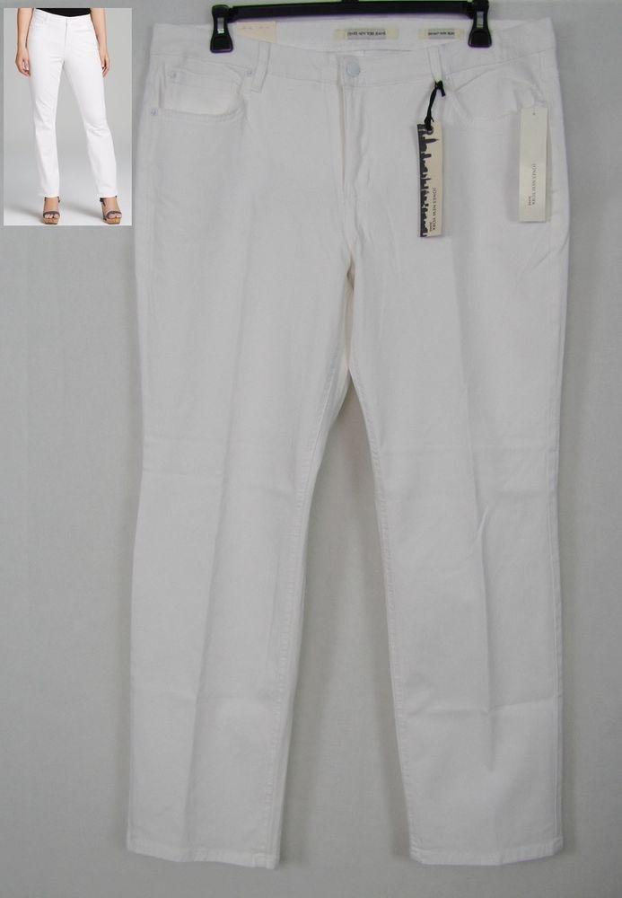 Jones New York Jeans Bryant Park Slim Women's Plus Sizes 18W, 22W NEW #JonesNewYork #Slim 26.99