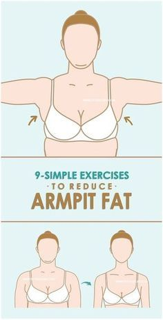 9 Best Ways of Exercises To Burn Fat At Armpit Bra Area -   19 body fat diet ideas