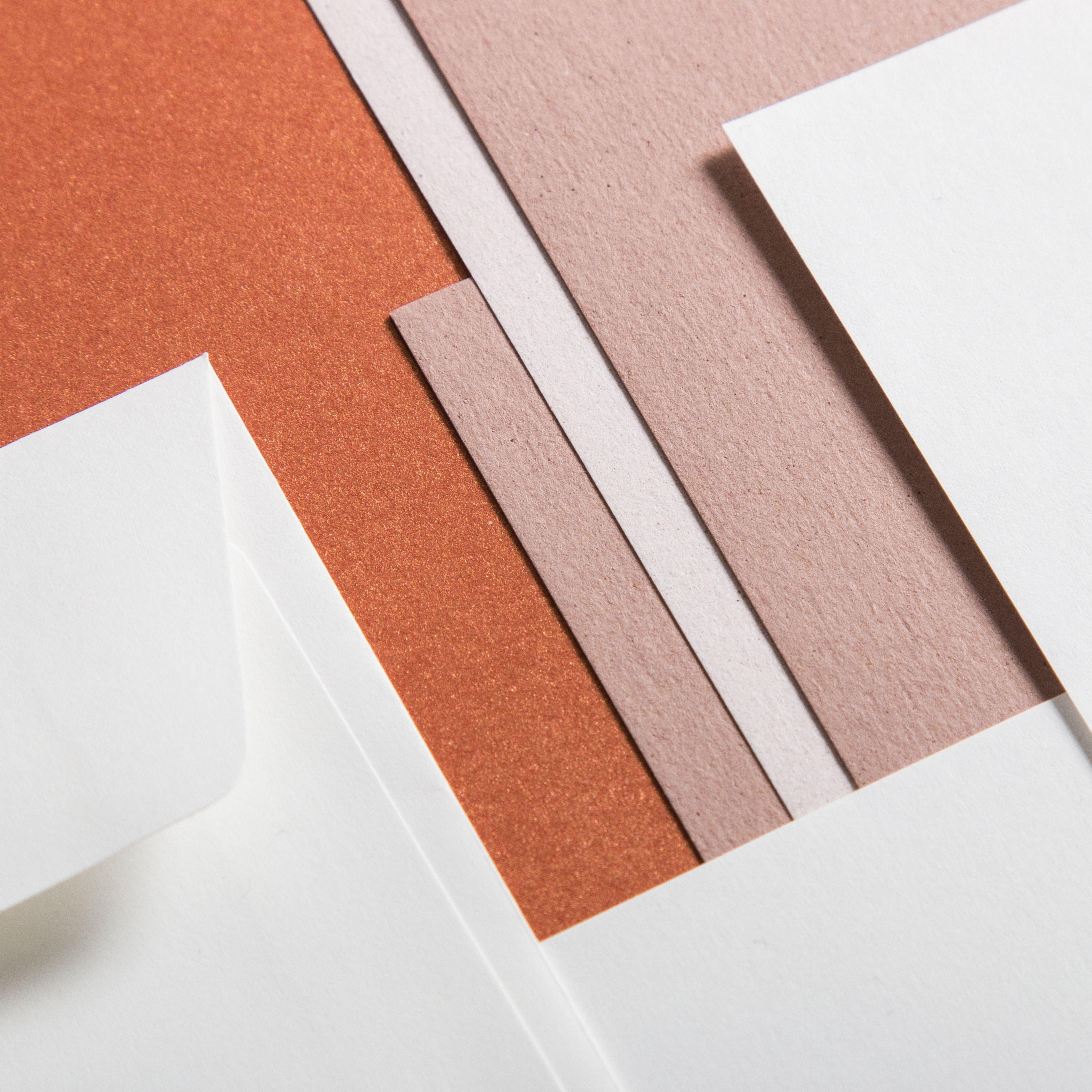 Papiere Im Farbtrend Blush Papier Farbtrends Umschlage