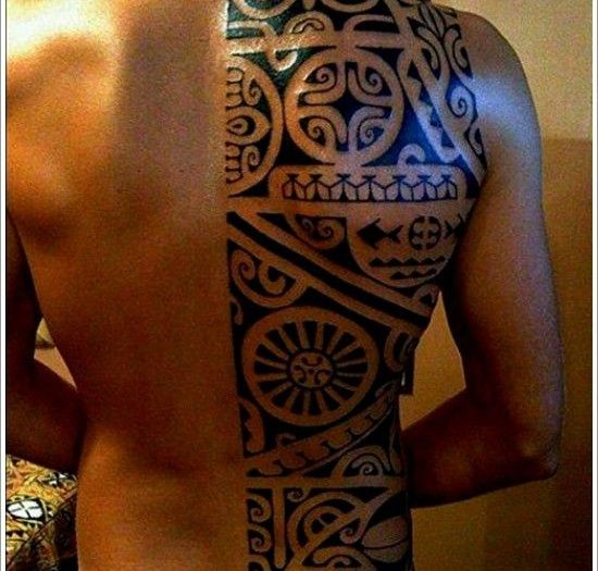 maori tattoo halber r cken neues tatto tribal tattoos. Black Bedroom Furniture Sets. Home Design Ideas