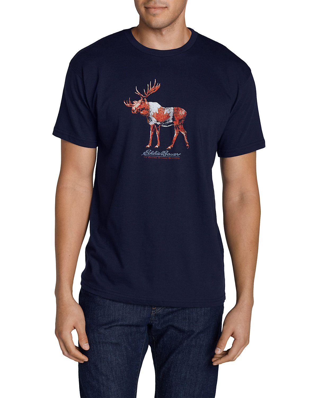 943e2b151 Men's Graphic T-shirt - Canadian Moose | Eddie Bauer | Men ...