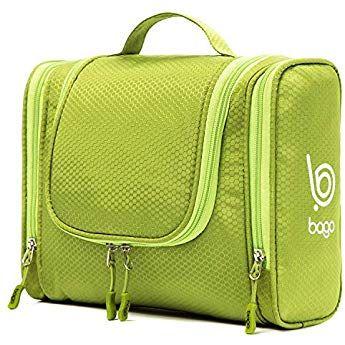 b386b332bee3 Bago Hanging Toiletry Bag For Men   Women - Toiletries Travel Organizer  (Green)