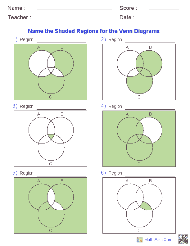 math worksheet : worksheet on venn diagrams  math  pinterest  worksheets venn  : Math Venn Diagram Worksheets
