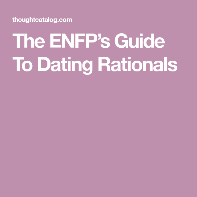 Intj guide to dating