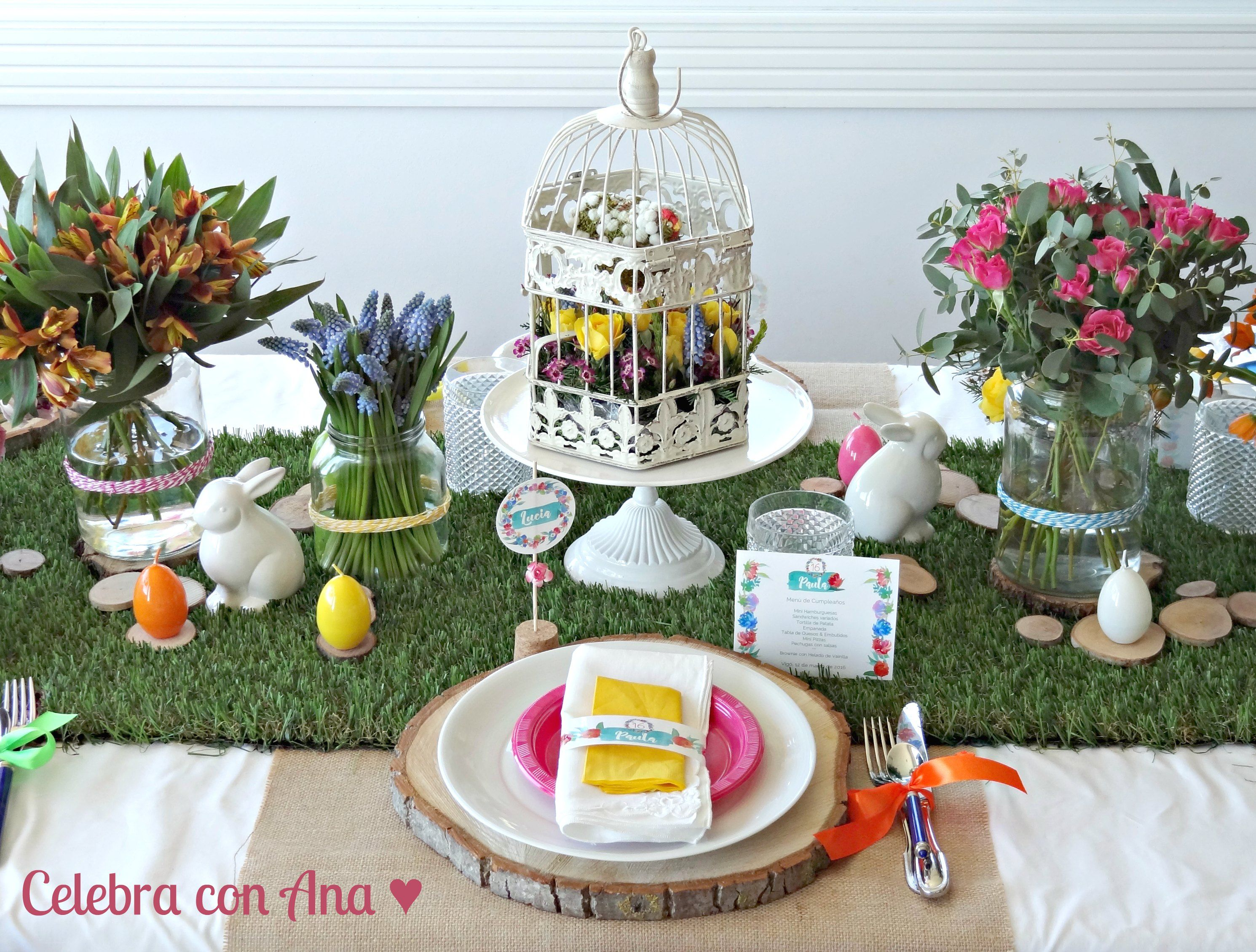 Mesa de Primavera Easter Table
