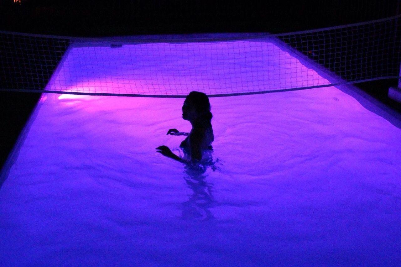 Neon Purple Grunge Aesthetic