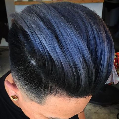 In Honour Of The Blue S Win Today Mens Hair Colour Boys Colored