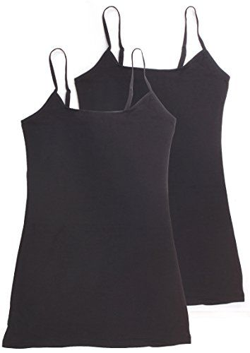 6b1e80be950ed Active Basic Womens Basic Casual Plain Camisole Cami Top Tank Junior and Plus  Sizes   You can get more details by clicking on the image.