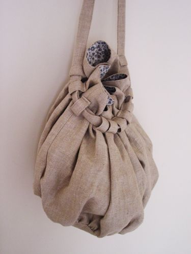 linen bag | craft | Pinterest | Clutch, Netz und Beutel