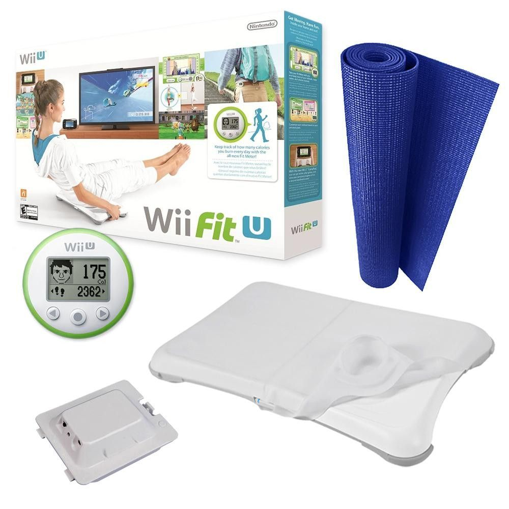 Wii Fit U Starter Kit Bundle
