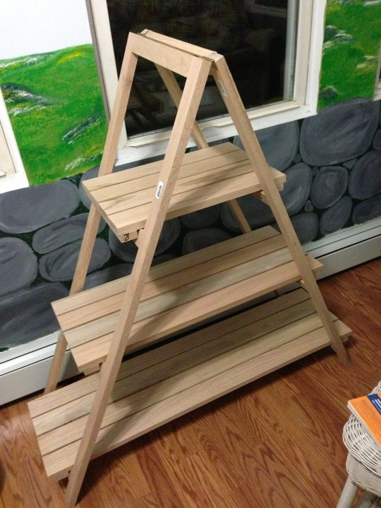 How To Build An A Frame Plant Stand With Images Diy Plant