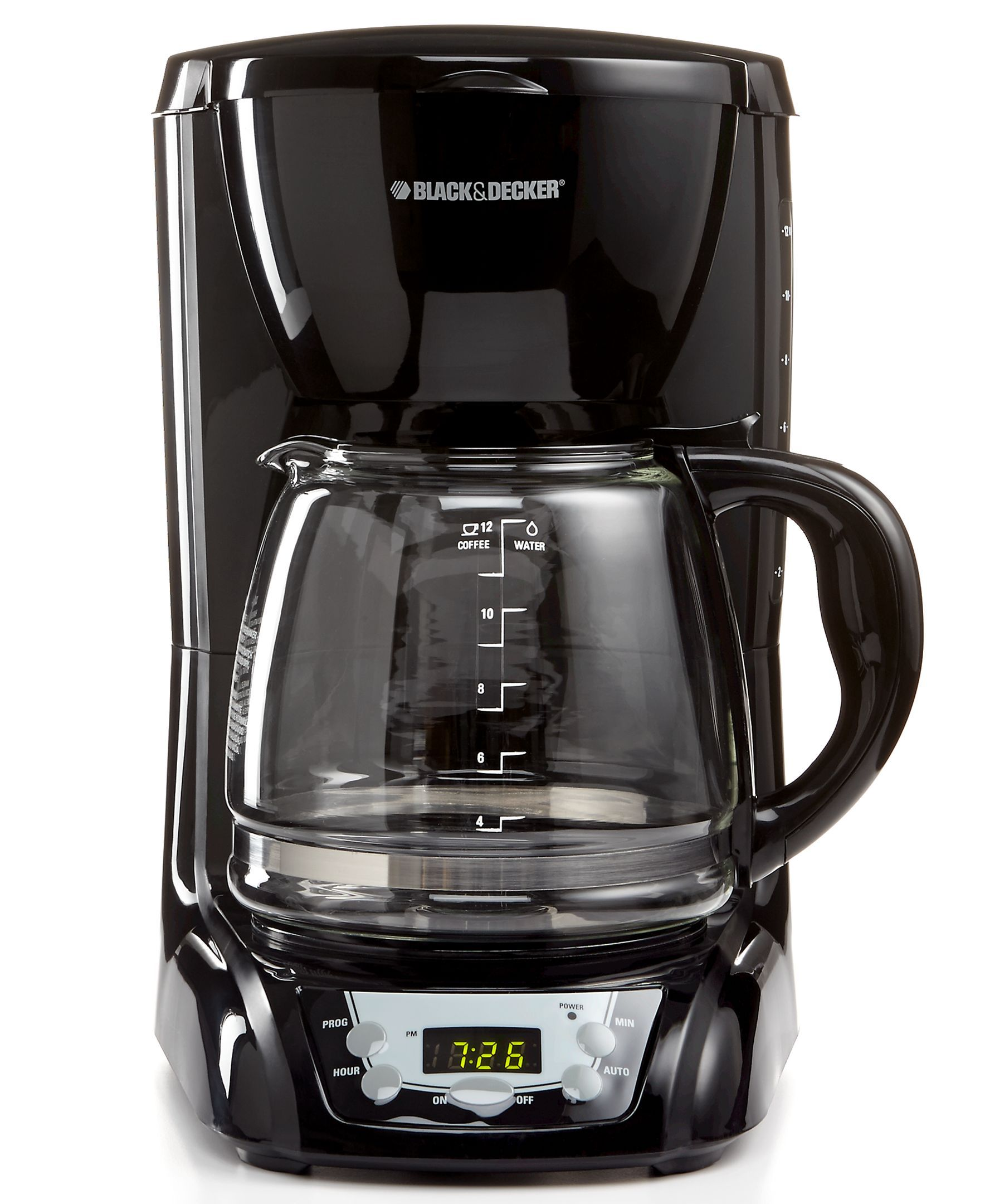 Black u decker dlxb coffee maker cup programmable products
