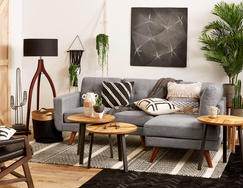 Black Wall Art 85cm X 85cm 33 X 33 Structube Aquila Interior Design Living Room Living Room Designs Decor [ 2318 x 3000 Pixel ]