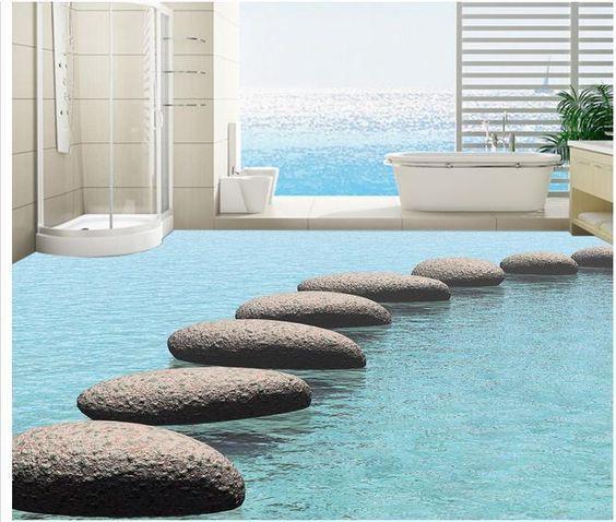 15 Most Amazing 3d Floors Mit Bildern Glasboden Bodenbelag Fur Badezimmer Bodengestaltung